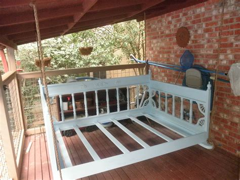 outdoor swinging bed swing beds our swing beds come standard in a crib twin