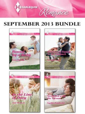 stranded with tycoon books harlequin september 2013 bundle bound by a baby