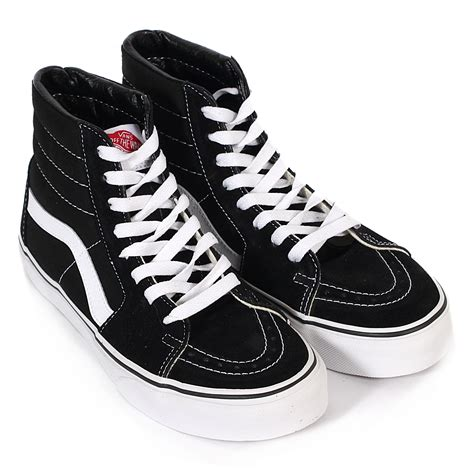 Vans Sk8 Hi Black Waffle Icc2 vans unisex sk8 hi canvas high top lace up trainer black