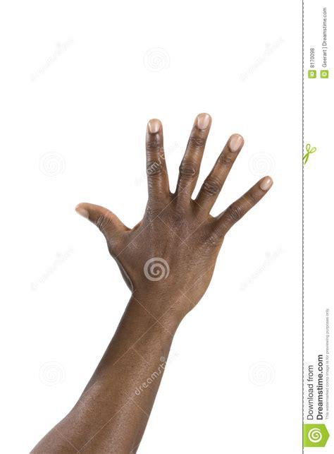 black hand hand of black man royalty free stock photos image 8170098
