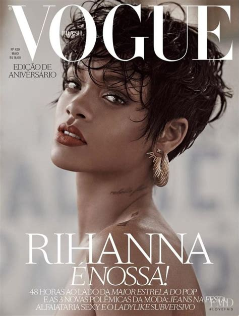 design magazine brazil best cover magazine rihanna vogue brazil may 2014