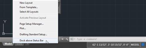 layout menu autocad the architect s desktop aca 2015 new look