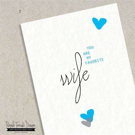 printable anniversary cards for wife printable favorite wife card with envelope diy wife