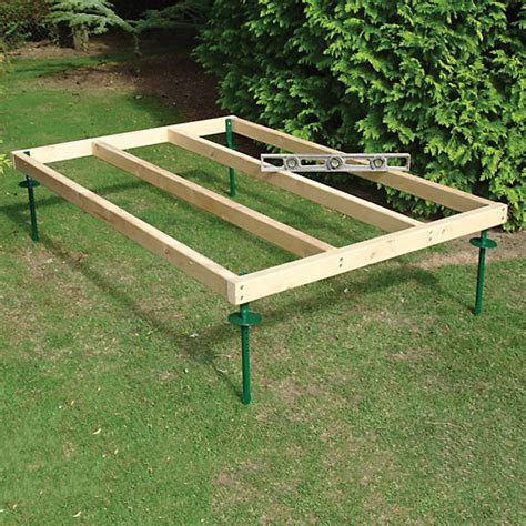Shed Bases Uk by Shire Adjustable Base For 6 X 4 Sheds Wickes Co Uk