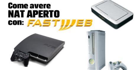 myfastpage configura porte router come avere tipo di nat 1 con fastweb gameback gameback