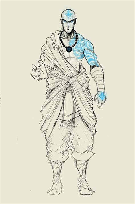full body avatar tattoo adult aang revision by sketchydeez on deviantart