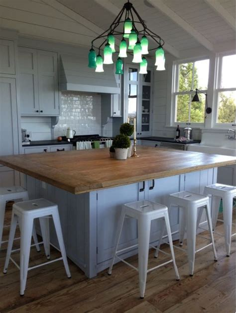 table as kitchen island 25 best ideas about island table on kitchen