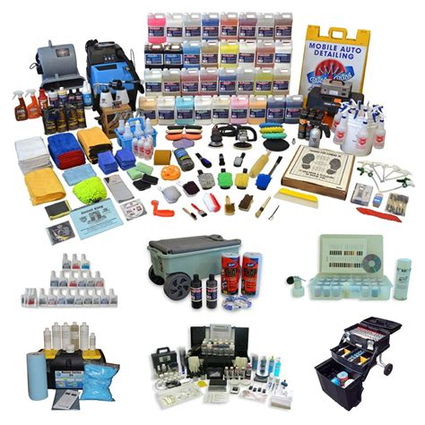 detailing car equipment auto detailing start up kits detail king