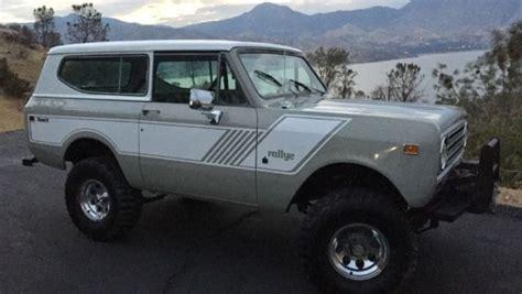 bronco jeep ih scout ii bronco jeep 4x4 suv
