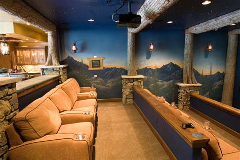 Home Theater Decorations Cheap ideas decorating ideas gallery in home theater rustic design ideas