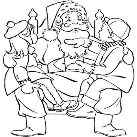santa anna coloring page kids and santa claus coloring pages christmas coloring