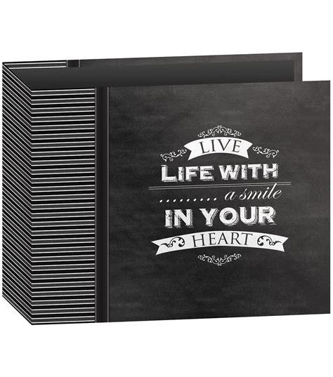Carla Craft Ring Binding System 12 Hi Store pioneer 3 ring smile binder chalkboard album jo