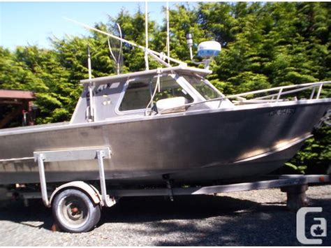 custom weld boats for sale bc welded aluminum 20ft fish crew boat for sale in nanoose