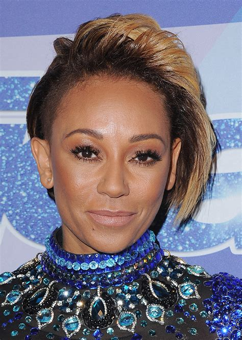 mel b hairstyles mel b just chopped off her hair into a pixie stylecaster