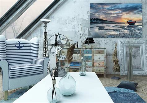 nautical interior design 14 on trend interior design themes wall art prints