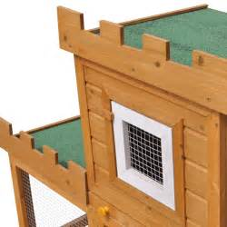 Rabbit Hutch Wire Outdoor Large Rabbit Hutch House Pet Cage Single House
