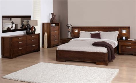 random bedroom suite dylan australian oak bed stained timber bed forty
