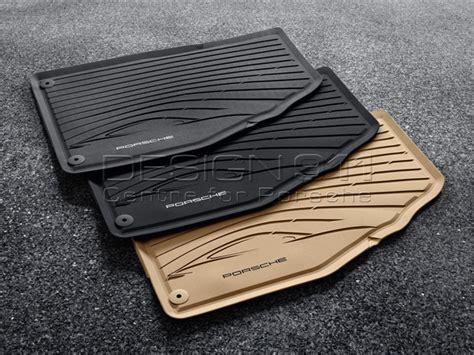 Porsche Car Mats by Porsche 991 911 Rubber Floor Mats 98104480043