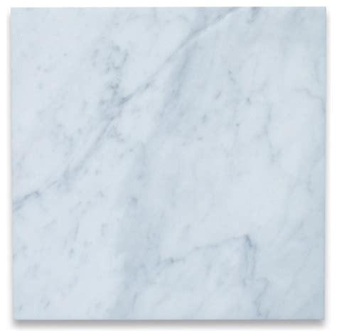 Carrara Marble Floor Tile Carrara White Marble Tile 12x12 Polished Italian Bianco 200 Sq Ft Traditional