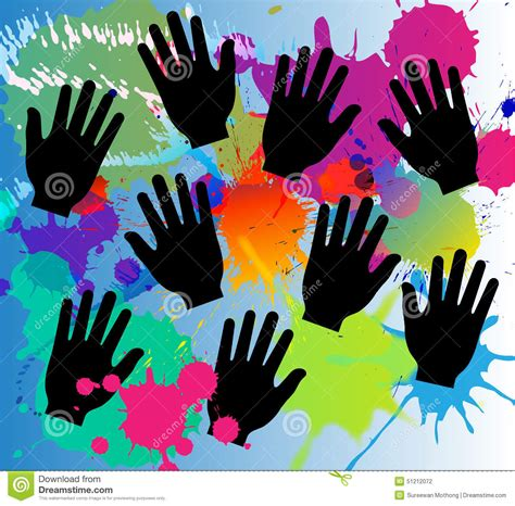 abstract vector color splash background paint vector illustration cartoondealer 54625644