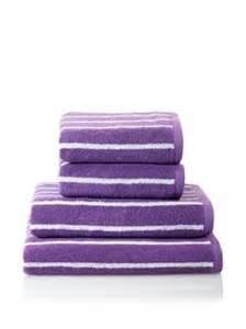 purple striped bath towels 1000 images about bathroom on towel set bath
