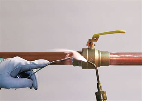 Can You Use Plumbing Solder On Electrical by Properly Soldering No Lead Copper Alloys Construction