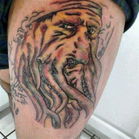 davy jones tattoo davy jones self by spazimus on deviantart