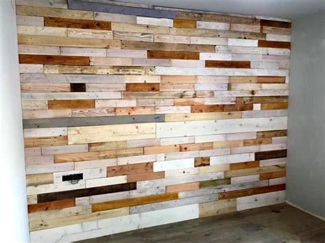 diy wood panel wall diy wood pallet wall paneling 101 pallets