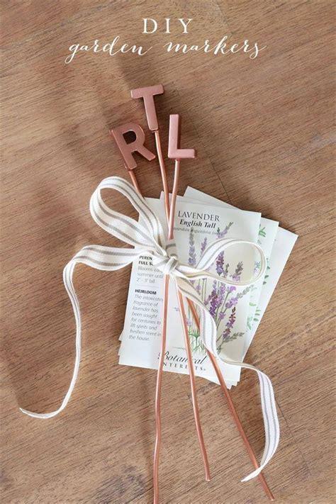 easy handmade plant label marker ideas diy