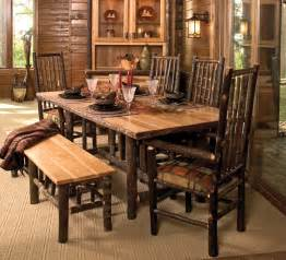 cottage hickory dining table rustic furniture mall by