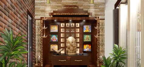 indian pooja room interior design