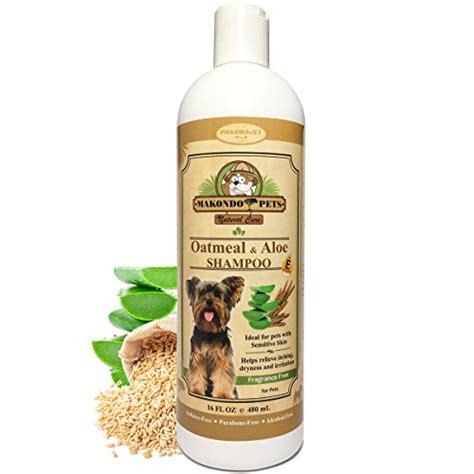 oatmeal dog shampoo  aloe vera  vitamin