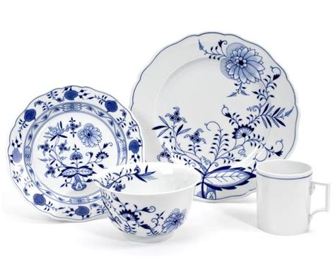 blue onion pattern when it comes to blue and white we cannot forget meissen