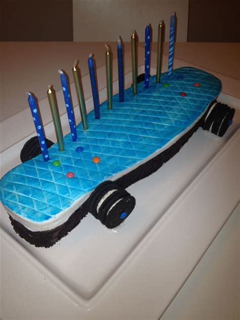 Penny Board Decoration Skateboard Cakes Cake Ideas And Designs