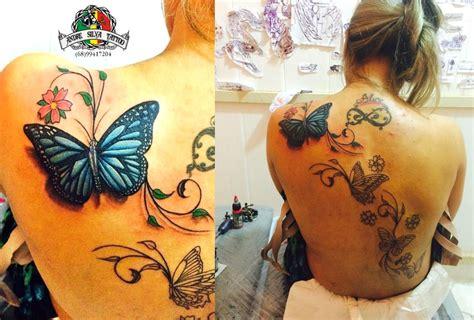borboletas em 3d youtube tatuagens borboletas em 3d by andre silva on flores
