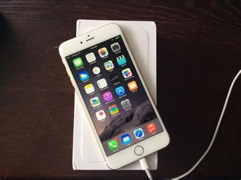 t iphone 6 plus official gold 128gb t mobile iphone 6 plus unboxing
