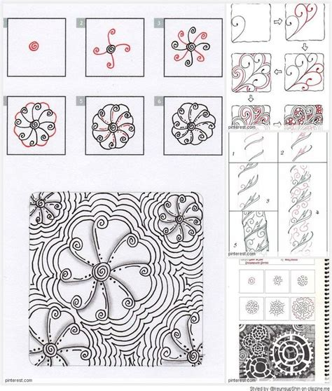 zentangle quilt pattern 17 best images about tangle patterns on pinterest