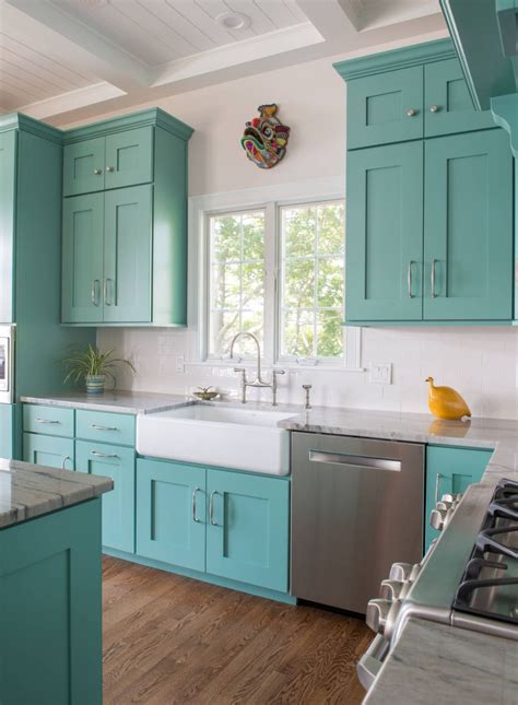 painted kitchen sink cabinets 10 most popular kitchen color ideas and combination