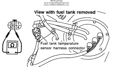 1998 nissan frontier fuel wiring diagram new wiring