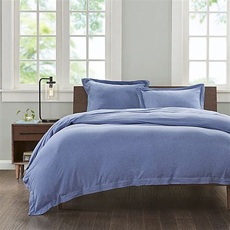 cotton jersey comforter buy ink ivy cotton jersey knit king duvet cover set in