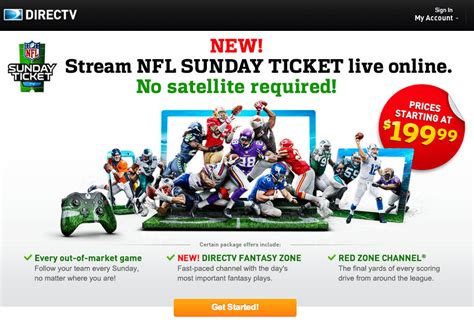 directv packages as of january 2014 nfl sunday ticket available online to non subscribers
