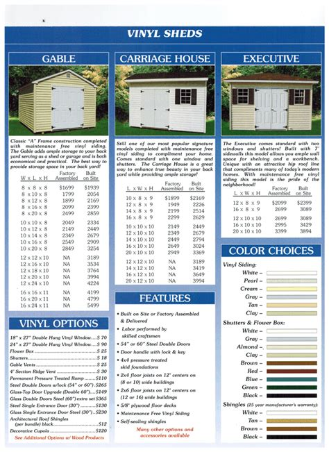 woodworks williamstown nj sheds built on site wood or vinyl sold by the wood works