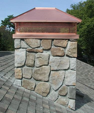 Chimney Opening Cover - chimney der caps covers arlington tx black