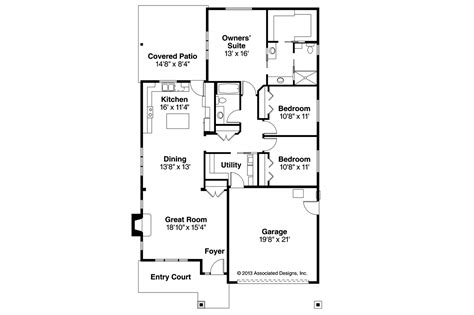 shingle style floor plans shingle style house plans pine creek 30 885 associated