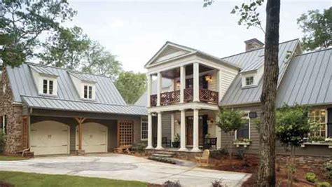 Kousa Creek John Tee Architect Southern Living House Southern Living House Plans Creek