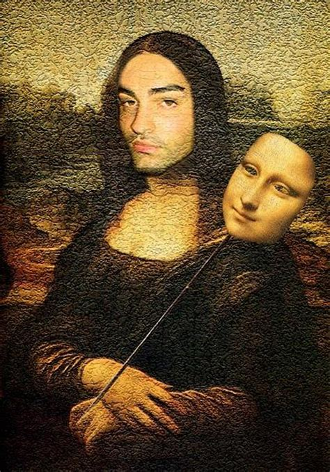 the real com the real mona lisa digital art by andreas georgio
