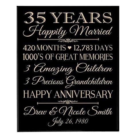 best 25 35th wedding anniversary ideas on