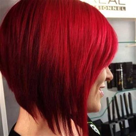 20 Red Bobs Hairstyles   Bob Hairstyles 2017   Short