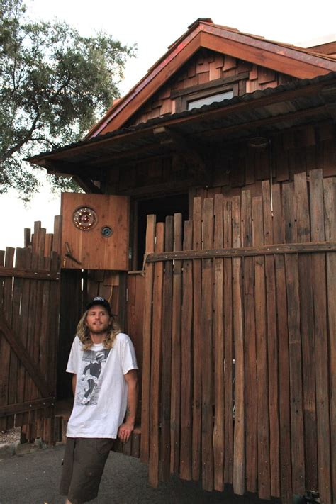 Tiny House On Slab by Quot Humble Abode Quot Built Entirely From Salvaged And Locally