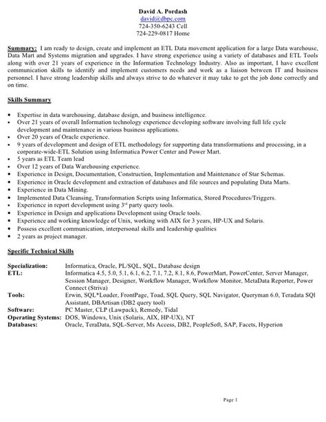 Informatica Resume by Informatica Resumes Resume Ideas